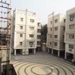 moderner wohnkomplex in kolkata
