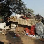 duerftige zeltunterkunft in kolkata