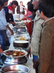 indisches hochzeitsbuffet