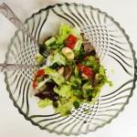 Salat mit wei