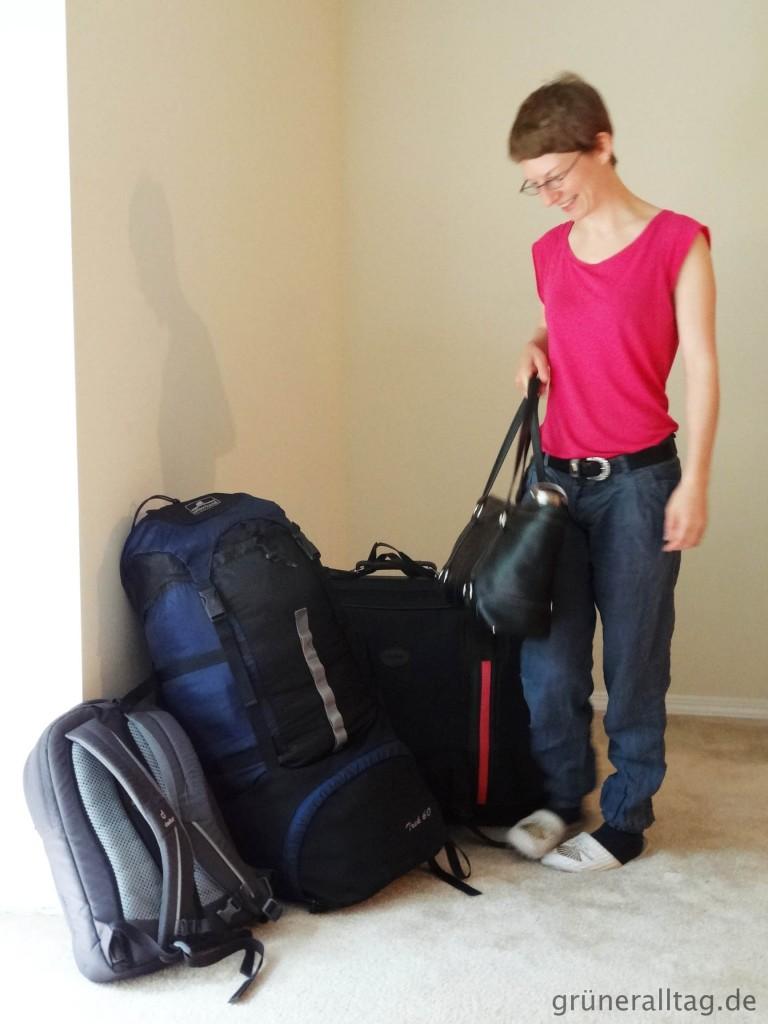 Umzug mit leichtem Gepäck