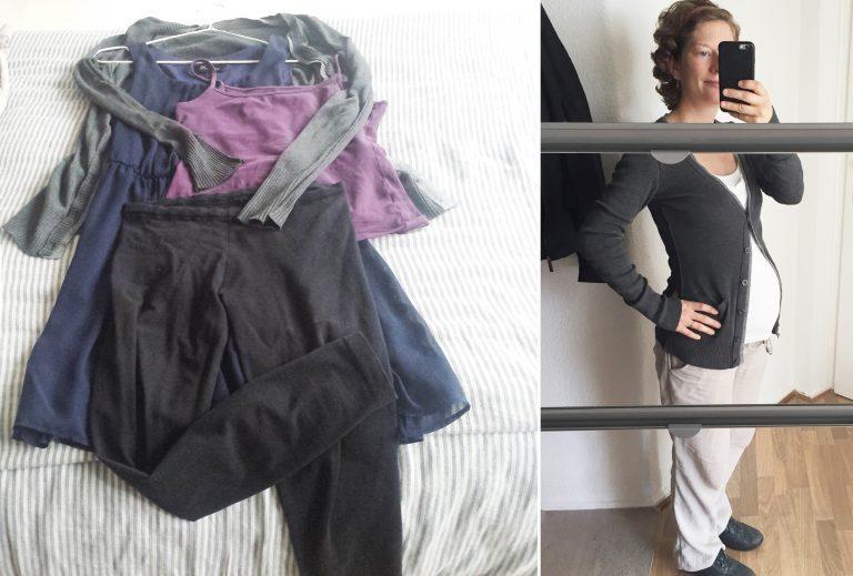 Klamotten als Umstandsmode kombinieren