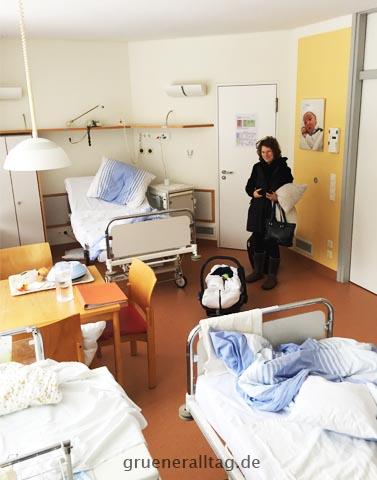 Familienzimmer im Suedklinikum Nuernberg
