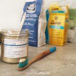Zahnpasta selber machen Zutaten und Rezept