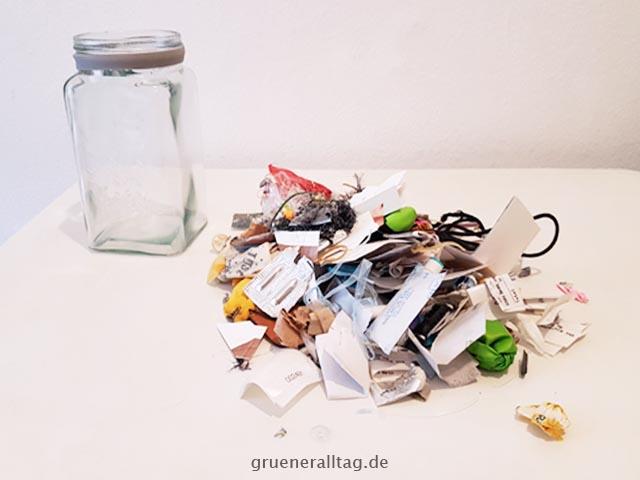 Müllglas 2018 ausgeschüttet