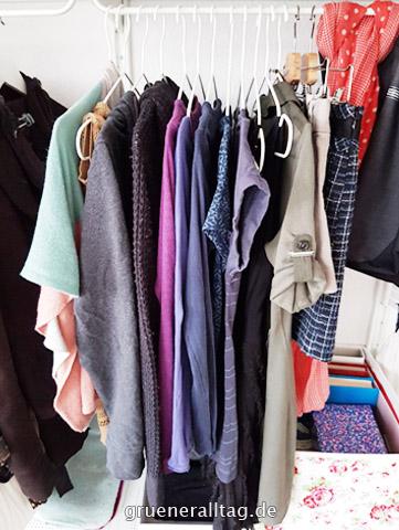 Mein Project 333 Kleiderschrank
