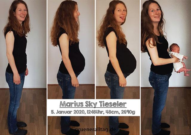zweite Schwangerschaft